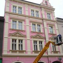 Rekonstrukce fasády Kollárova 6