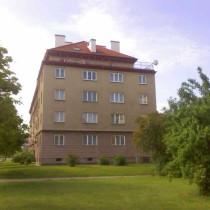 Oprava domu Slovanská alej