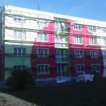 Rekonstrukce fasády domu Staniční 59