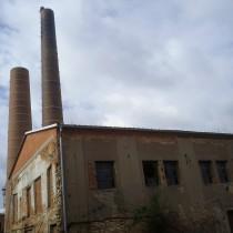 Demolice továrních komínů Břasy