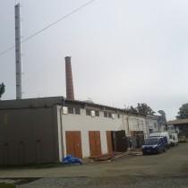 Rekonstrukce plynové kotelny v Křimicích