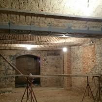 Rekonstrukce činžovního domu v Plzni Dominikánské - III. etapa Minipivovar