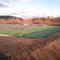 Výstavba 2.umělé travnaté plochy v areálu SK Senco Doubravka