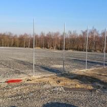Výstavba sportovního areálu v Praze na Barrandově ZŠ Chaplinovo nám.