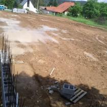 Výstavba víceúčelového hřiště v Dýšiné