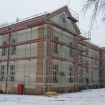 Rekonstrukce fasády a objektu Praha Hostivice