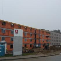 Výstavba ubytovny - Bor u Tachova